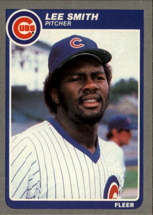 1985 Fleer #67 Lee Smith
