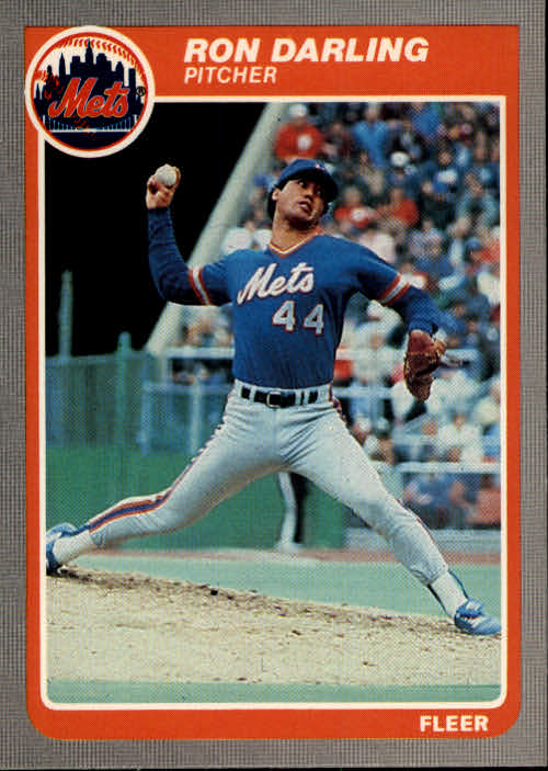 1985 Fleer #76 Ron Darling