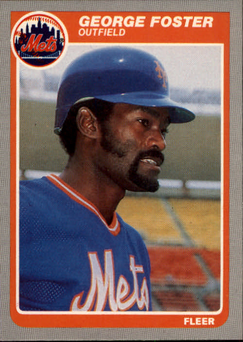 1985 Fleer #79 George Foster