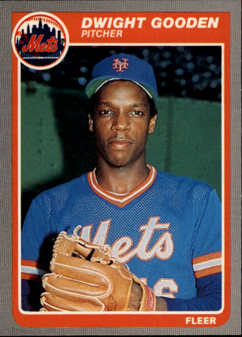 1985 Fleer #82 Dwight Gooden RC front image
