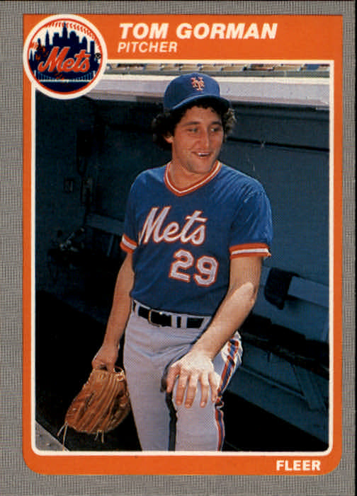 1985 Fleer #83 Tom Gorman