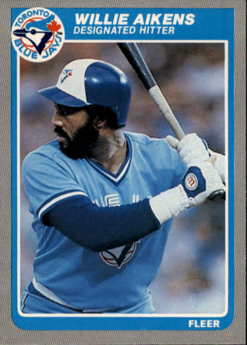1985 Fleer #97 Willie Aikens