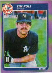 1985 Fleer #126 Tim Foli