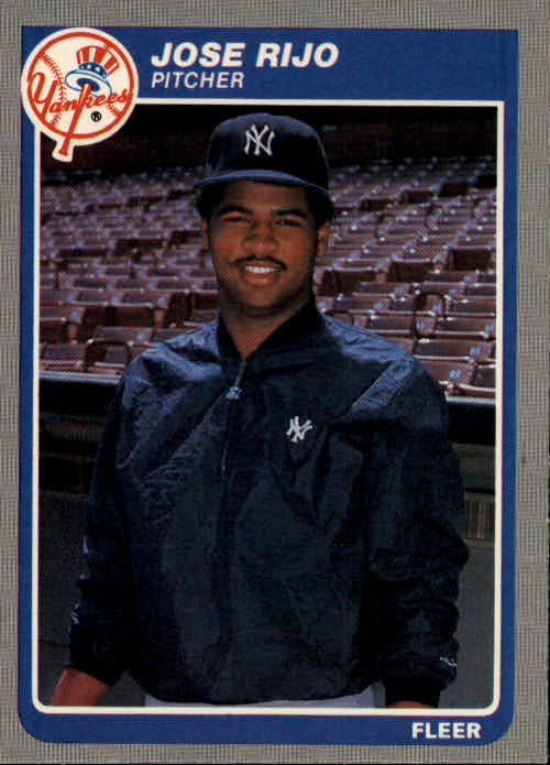 1985 Fleer #143 Jose Rijo RC