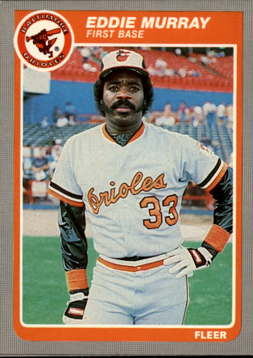 1985 Fleer #184 Eddie Murray
