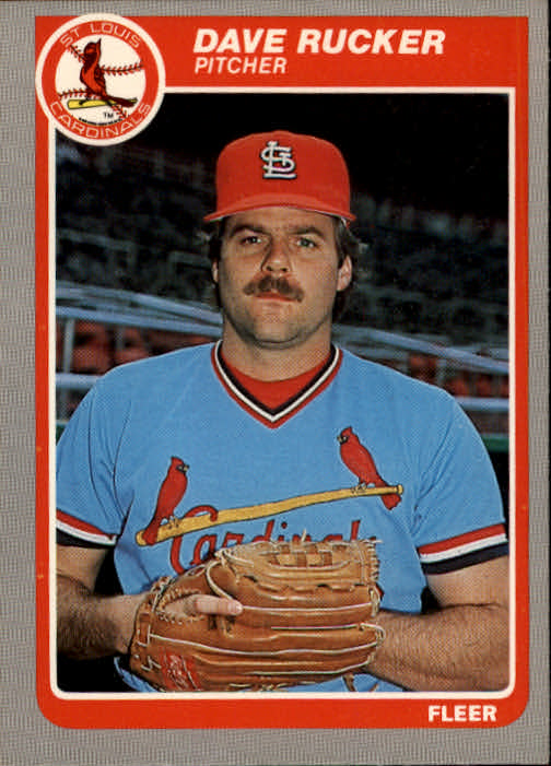 1985 Fleer #238 Dave Rucker