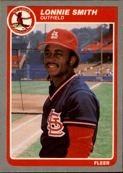 1985 Fleer #239 Lonnie Smith