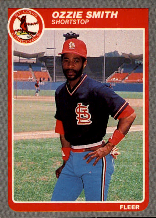 1985 Fleer #240 Ozzie Smith