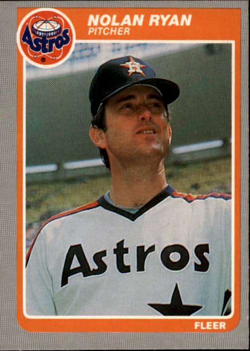 1985 Fleer #359 Nolan Ryan