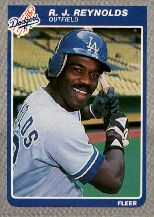 1985 Fleer #381 R.J. Reynolds