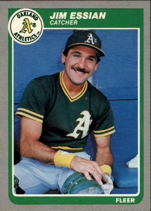 1985 Fleer #423 Jim Essian