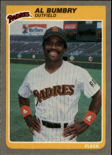 1985 Fleer Update #13 Al Bumbry