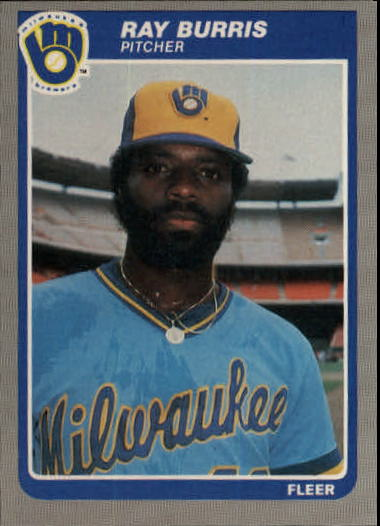 1985 Fleer Update #15 Ray Burris