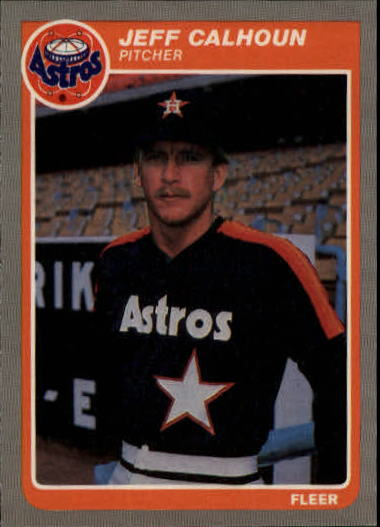1985 Fleer Update #18 Jeff Calhoun