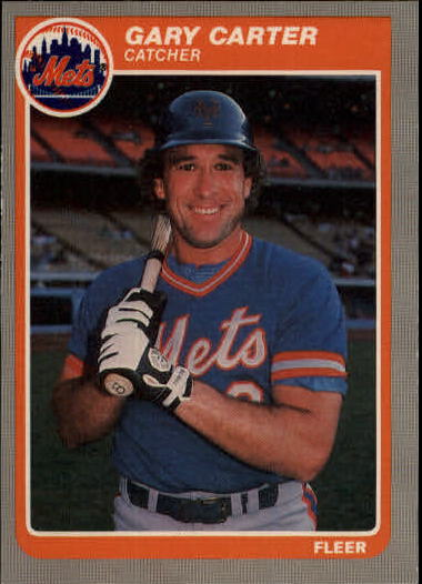 1985 Fleer Update #21 Gary Carter