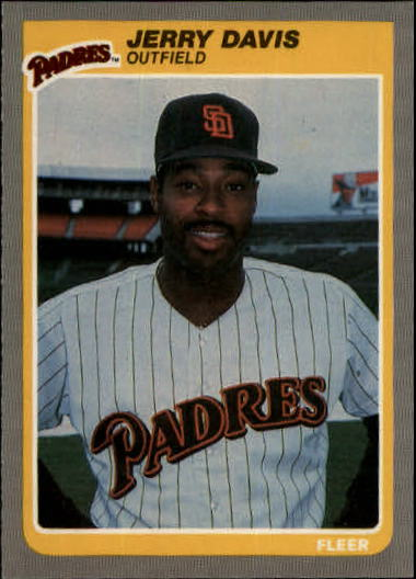 1985 Fleer Update #34 Jerry Davis