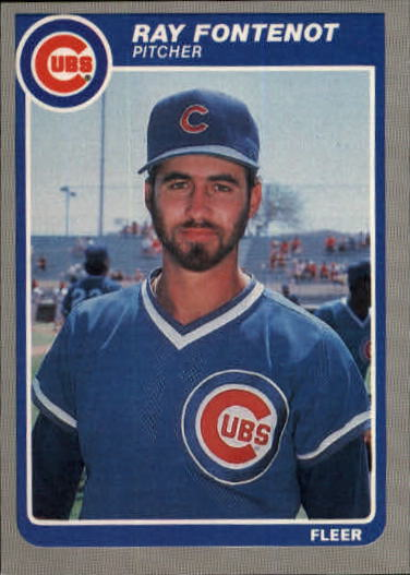 1985 Fleer Update #42 Ray Fontenot