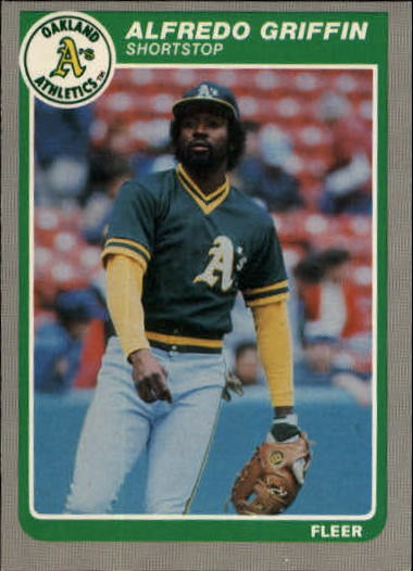 1985 Fleer Update #47 Alfredo Griffin