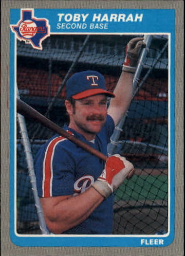 1985 Fleer Update #49 Toby Harrah