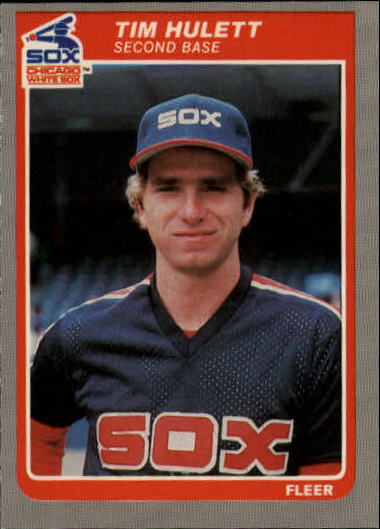 1985 Fleer Update #59 Tim Hulett XRC