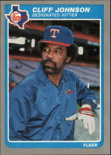 1985 Fleer Update #61 Cliff Johnson