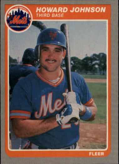 1985 Fleer Update #62 Howard Johnson