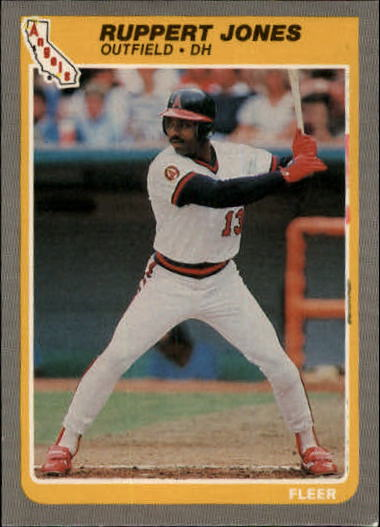 1985 Fleer Update #63 Ruppert Jones