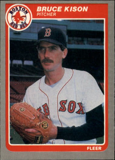 1985 Fleer Update #65 Bruce Kison