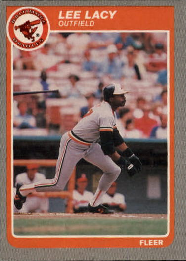 1985 Fleer Update #67 Lee Lacy