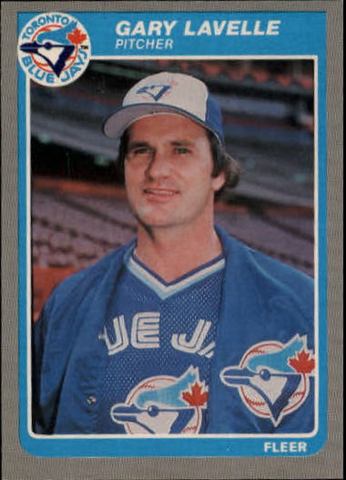 1985 Fleer Update #69 Gary Lavelle