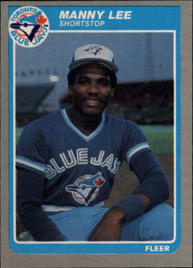 1985 Fleer Update #71 Manuel Lee XRC