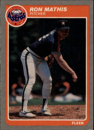 1985 Fleer Update #78 Ron Mathis