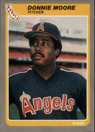 1985 Fleer Update #82 Donnie Moore