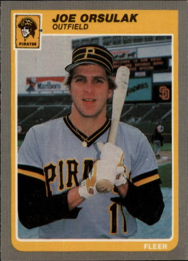 1985 Fleer Update #85 Joe Orsulak XRC