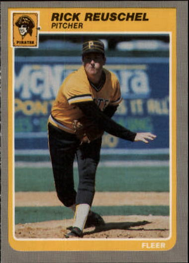1985 Fleer Update #88 Rick Reuschel