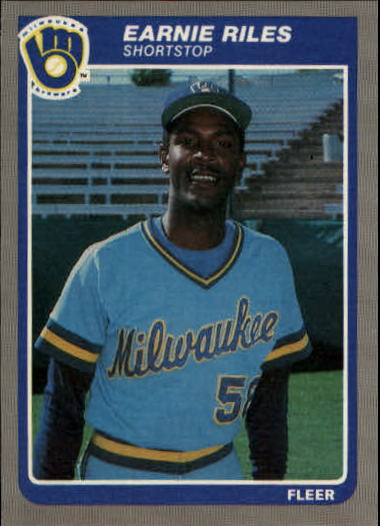 1985 Fleer Update #89 Earnie Riles