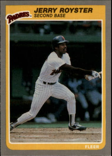 1985 Fleer Update #90 Jerry Royster