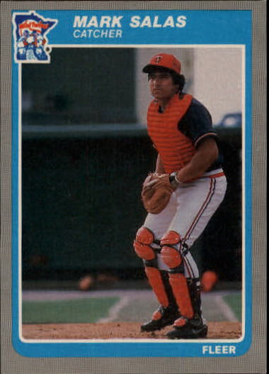 1985 Fleer Update #94 Mark Salas