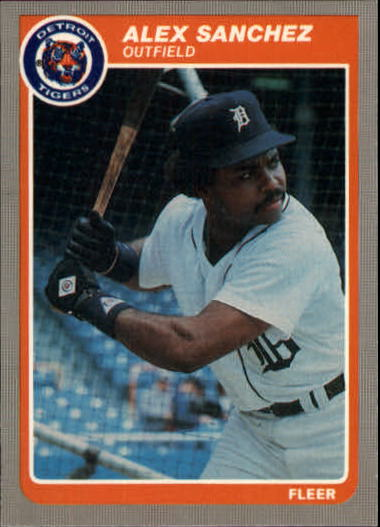 1985 Fleer Update #98 Alejandro Sanchez XRC
