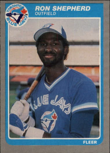 1985 Fleer Update #102 Ron Shephard