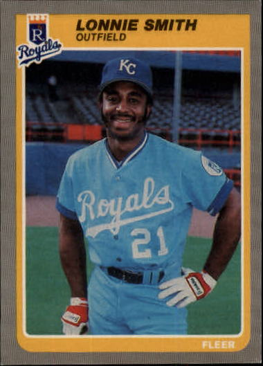 1985 Fleer Update #106 Lonnie Smith