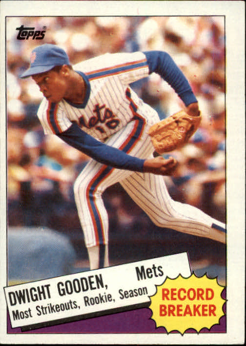 1985 Topps #3 Dwight Gooden RB