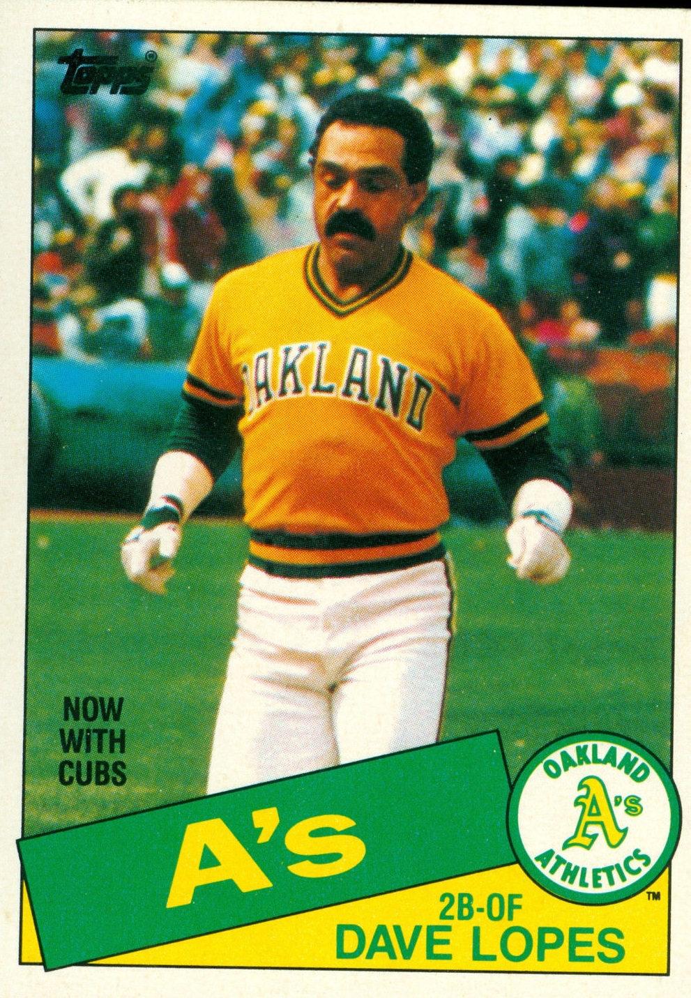 1985 Topps #12 Dave Lopes