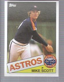 1985 Topps #17 Mike Scott