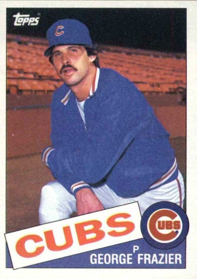 1985 Topps #19 George Frazier