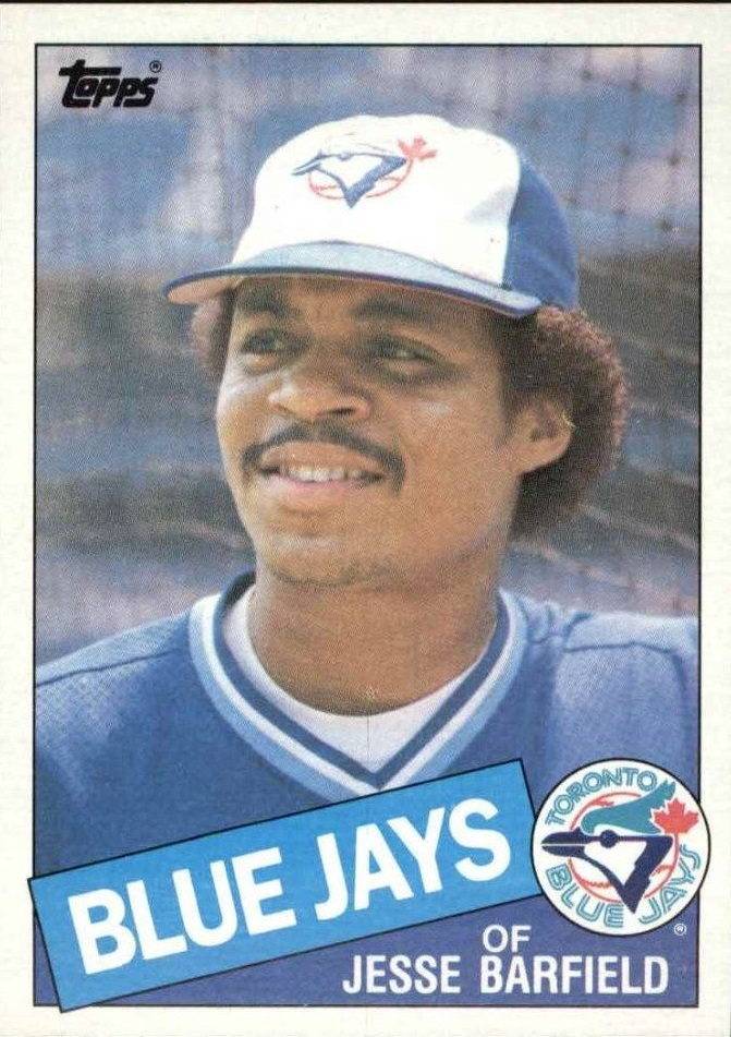 1985 Topps #24 Jesse Barfield
