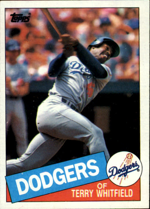 1985 Topps #31 Terry Whitfield