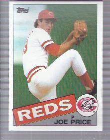 1985 Topps #82 Joe Price