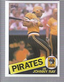 1985 Topps #96 Johnny Ray