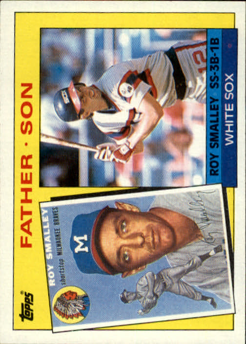 1985 Topps #140 Roy/Roy Smalley FS